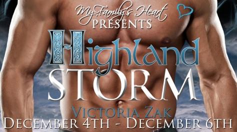 Highland Storm - Tour Banner