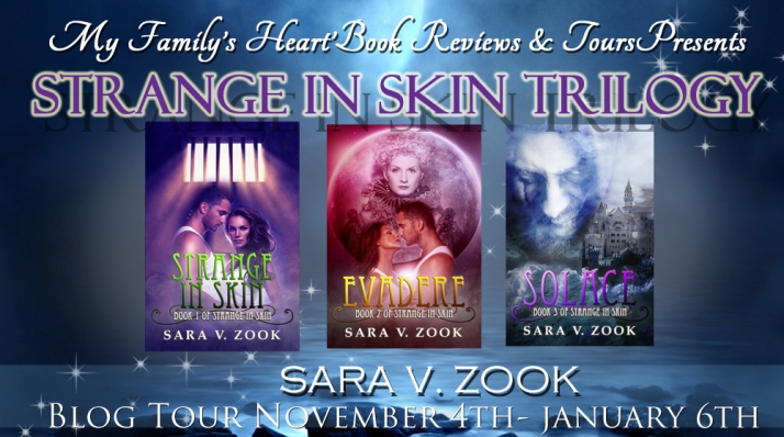 Strange in Skin Trilogy by Sara V. Zook