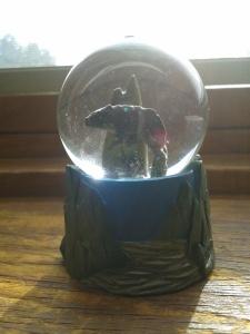 Snow globe-giveaway prize