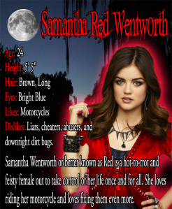 Character Bio - Samantha - Red - Wentworth