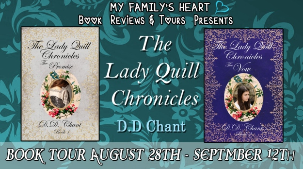 Lady Quill Chronicles - Tour Banner