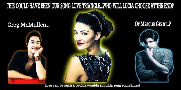 This Could Have Been Our Song - love triangle banner