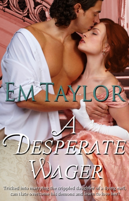 A Desperate Wager - Book Cover