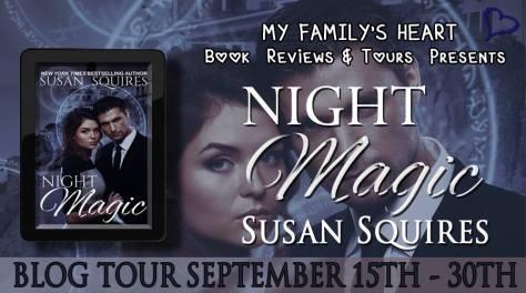 Night Magic - Tour Banner