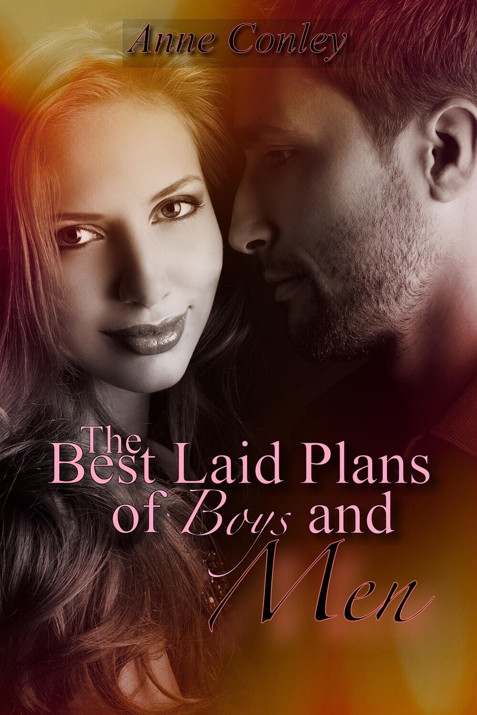 Contemporary Romance Book Covers : Best laid plans of boys and men by author anne conley