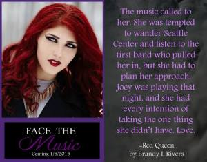 Face The Music - Red Queen Teaser