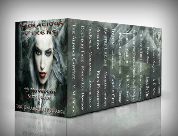 Voracious Vixens - Cover