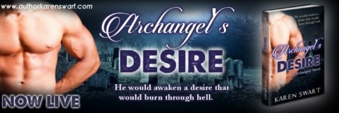 Archangel's Desire - Author Banner