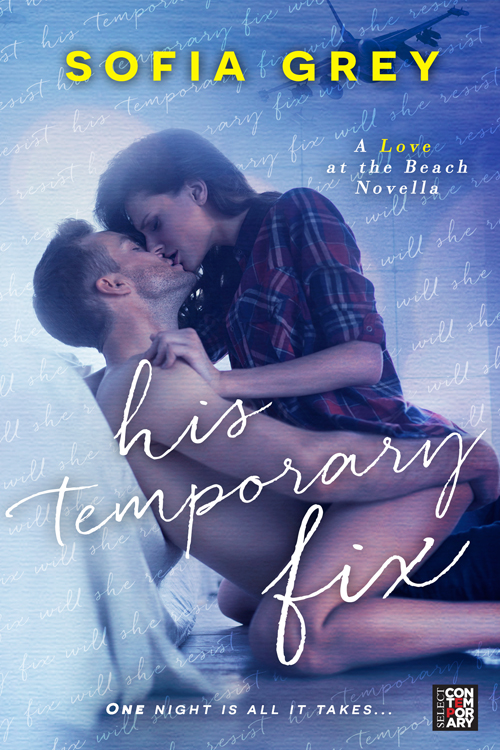 His Temporary Fix - Book Cover
