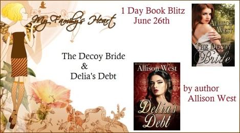Decoy Bride & Delia's Debt - Banner